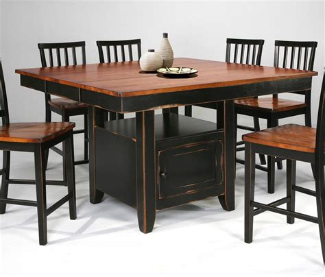 Kitchen Island Table With Chairs - kitchen island slat back stools by intercon wolf and