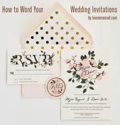 Wedding Invitation Wording Etiquette Wedding Bells Invitation Etiquette Lauren Conrad