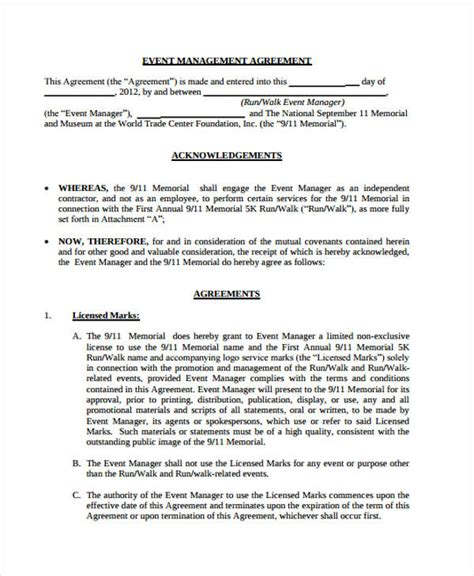 investment management agreement template management agreement templates 11 free word pdf format