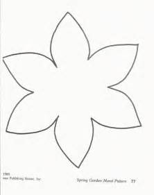 template of a daffodil preschool flower template image search results templates
