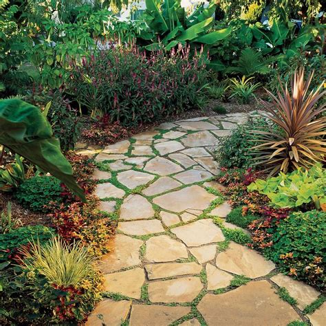 Backyard Ideas To Cover Dirt Best 25 Flagstone Pavers Ideas On