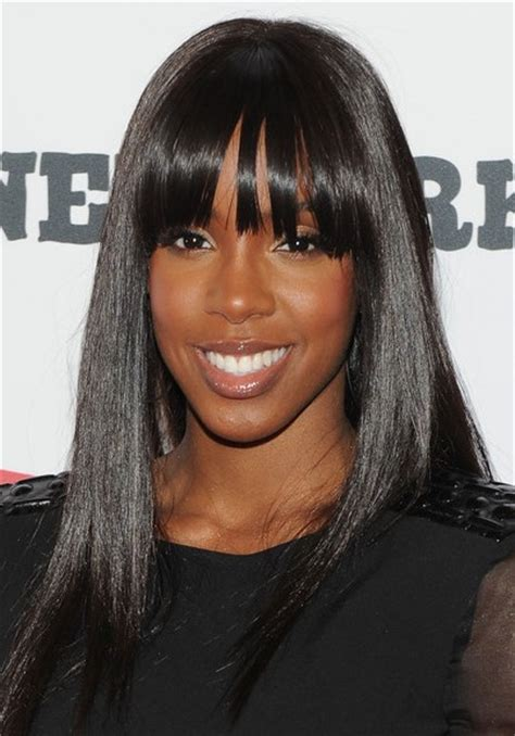 black hairstyles straight hair most beautiful black women hairstyles yve style com