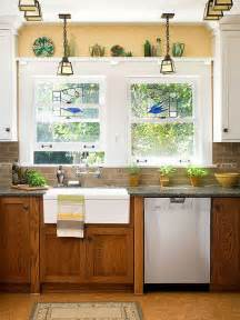 Update Kitchen Countertops - how to update oak kitchen cabinets with paint by bhg shown with granite countertops and glass