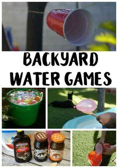 Backyard Water For Adults Diy Activities For And Water On