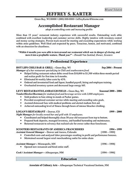 sample manager resume template finance manager resume template