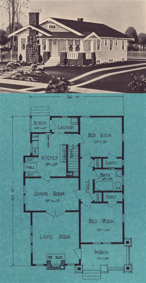 home plans seattle 1924 single floor bungalow stetson post seattle house