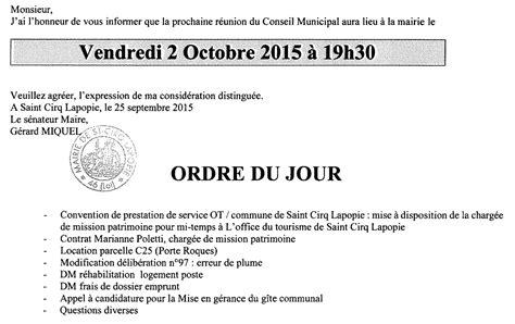 lordre du jour 97 les chats perches de saint cirq conseil municipal ordre du jour de la s 233 ance du 2 octobre