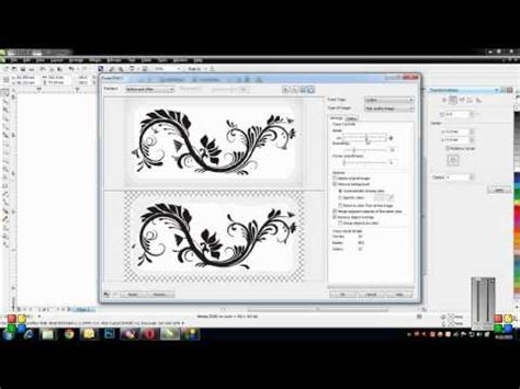 corel draw x7 trace 03 corel draw hindi tutorials raster vs vector funnydog tv
