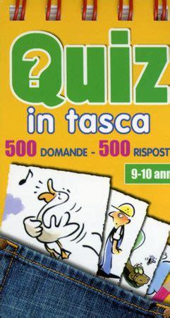 giochi quiz e test quiz in tasca 9 10 anni