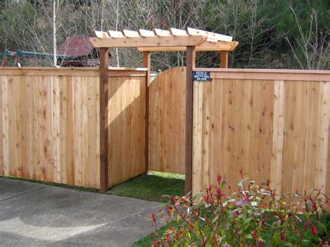 fence designs wood architectural design