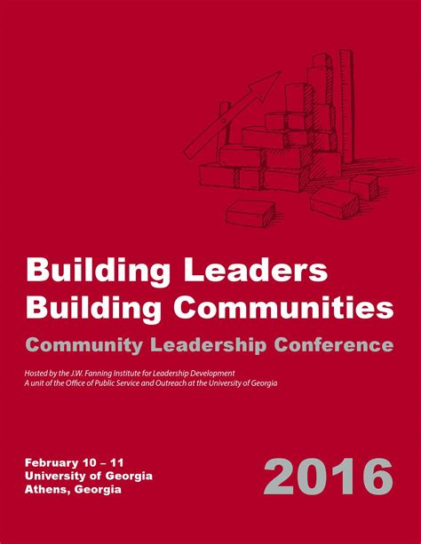 community leadership conference program  jw