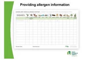 eu food regulations food allergen labelling