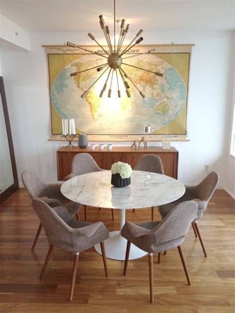 Mid Century Modern Dining Room Tables 5 Ways With The Saarinen Dining Table Hatch The Design 174