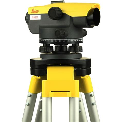 Tripod Waterpass opti cal survey equipment leica na332 automatic level