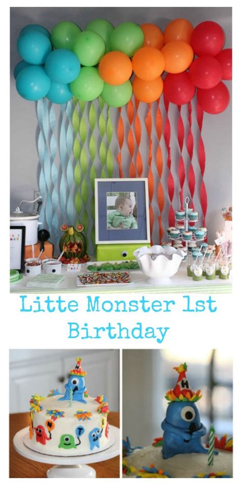 1st birthday decoration ideas at home tag theme ideas for 1st birthday party for boy homemade