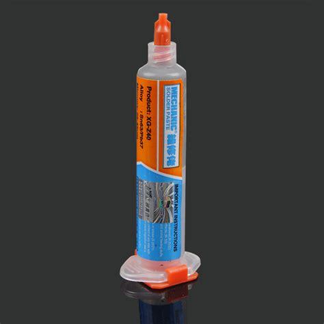 Pasta Flux Solder Lead Free Sn63 Pb37 25 45um 10cc Xg Z40 2pcs xg 40 10cc bga soldadura flux pasta de crema de esta 241 o para soldar sn63 pb37 venta