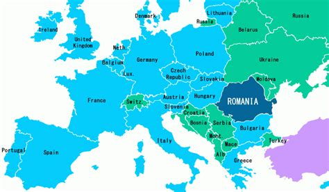 romania on the world map romania map of europe travelsfinders