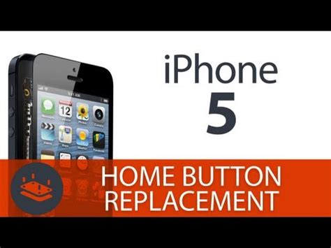 how to replace your iphone 5 s home button