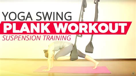 yoga swing tutorial omni gym suspension training core ab workout youtube