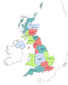 map of the regions of britain britainvisitor travel