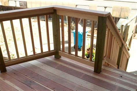 Decking Banister by Home Design Ideasdistinctive And Various Composite Terrace