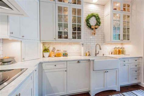white kitchen decorating ideas photos 15 traditional and white farmhouse kitchen designs home design lover