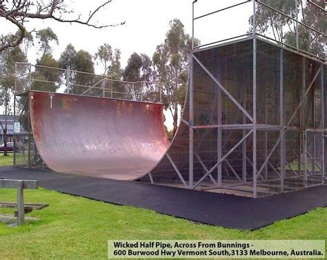 backyard halfpipe for sale wicked halfpipe in melbourne halfpipe in australia