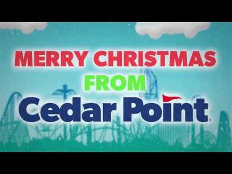 cedar point christmas video  youtube