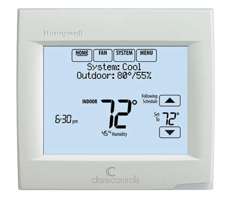 automated wi fi thermostat humidistat