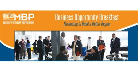 Opportunities For And Minority Run Businesses by Minority Business Partnership Business Opportunity Breakfast