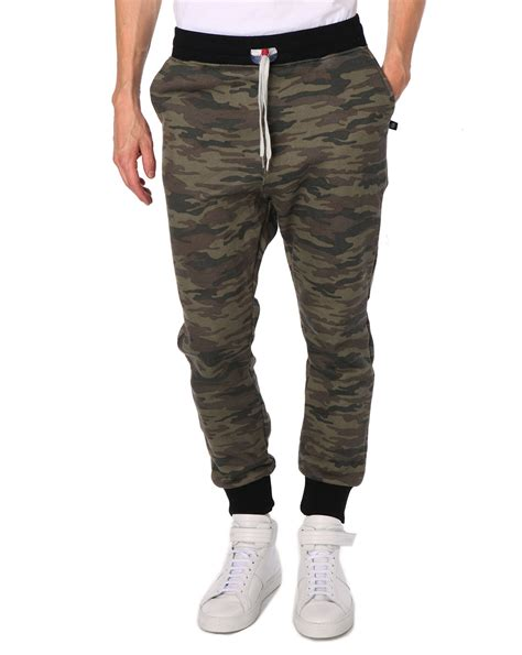 Collar Lab Jogger Camo sweet camouflage trousers back number