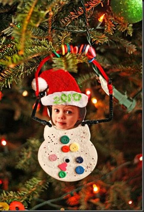 christmas ornaments to make with oreschool boy 30 kid friendly handmade ornaments suburble