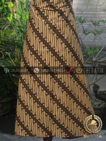 Kemeja Lengan Pendek Gunung Sogan jual kain batik motif parang srimpi sogan thebatik