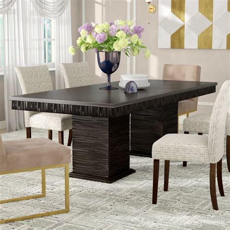 cadogan extendable dining table reviews allmodern