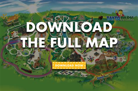 theme park zoo park map 2017 tayto park theme park zoo