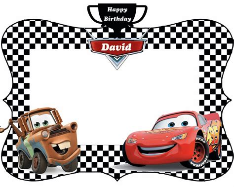 How To Make Home Decorations by Free Printable Lightning Mcqueen Birthday Invitations