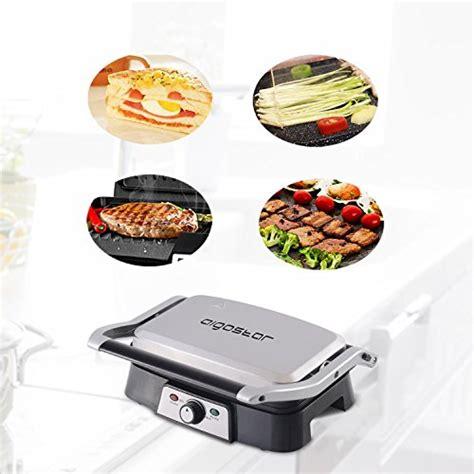 aigostar hitte 30hfa kontaktgrill panini maker sandwich maker elektrogrill 1500 watt cool