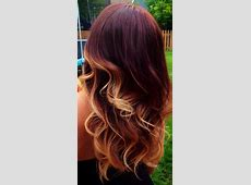 Tendencia en el pelo Archives - Mujer Chic Red To Blonde Ombre Hair Tumblr