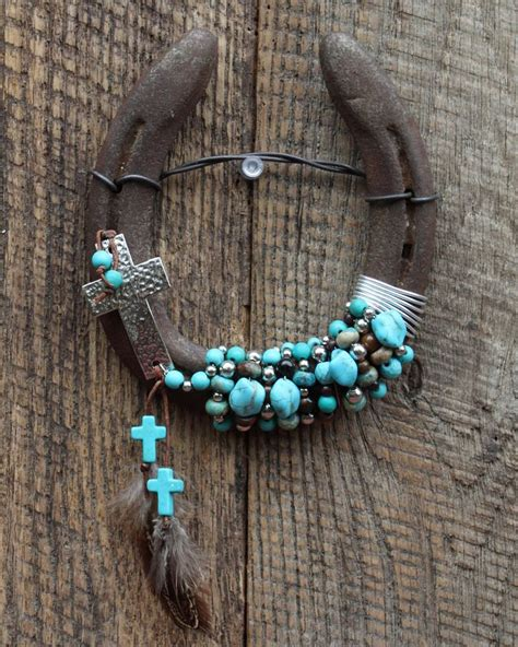 hanging home decor 25 best ideas about beaded horseshoe on