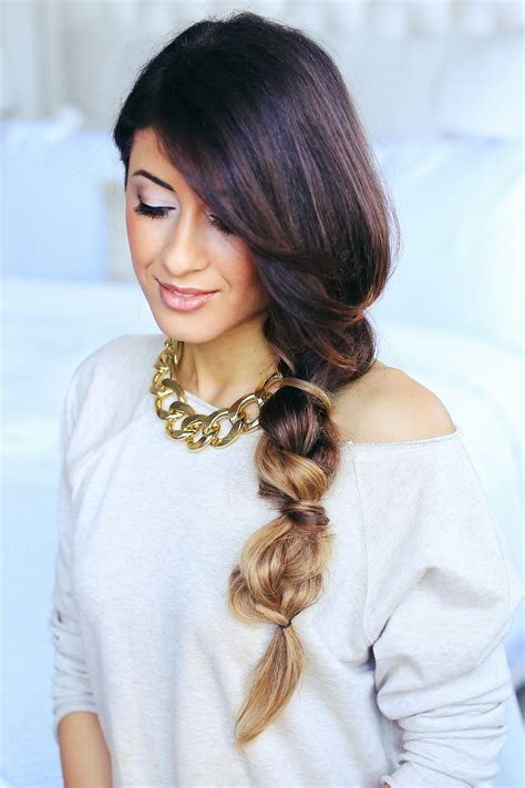 braided hairstyles luxy cute and easy braided bubble hairstyle luxy hair