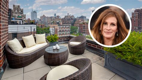 nyc appartments for sale julia roberts lists new york city penthouse variety