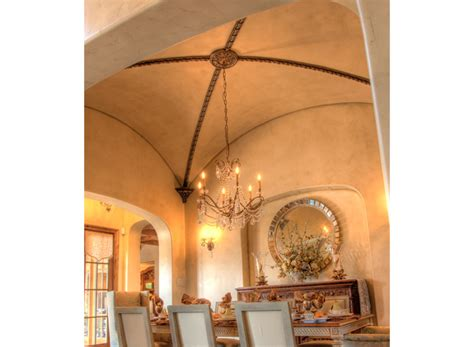 Groin Ceiling Groin Vault Ceiling Trimmed Out With Decorative Trim