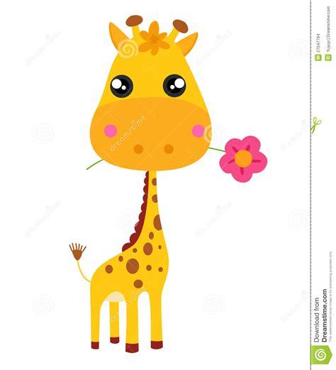 imagenes de jirafas bebés jirafa y flor del beb 233 imagenes de archivo imagen 27047794