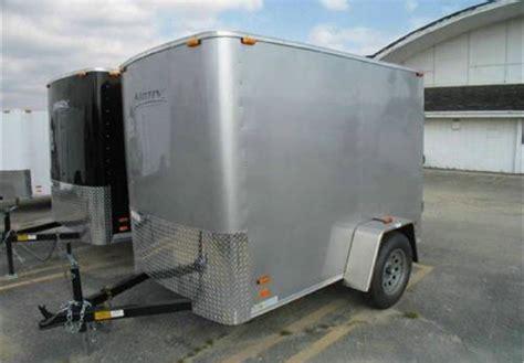 trailer swing doors enclosed 5 x 8 cargo trailer with swing doors
