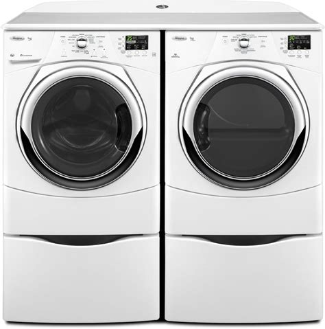 Sale Bushing Dryer Vintage Set Chrome whirlpool wed9371yw 27 inch electric dryer with 6 7 cu ft capacity 9 cycles