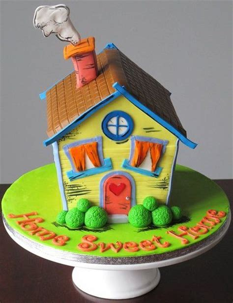 home decorated cakes inspirational cake decorating ideas for house warming