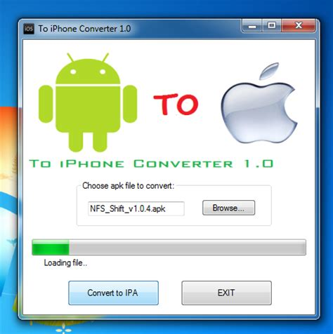 how to convert apk to zip ipa to apk converter free for pc