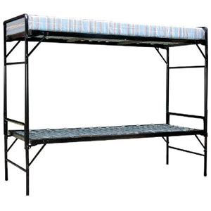 Institutional Bunk Beds Institutional Bunk Bed Army Style Bunkable Beds With 4 In Foam Mats Fr Azfs378