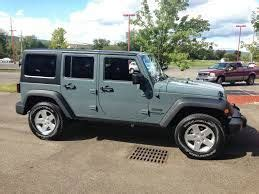 Jeep Anvil Color Jeeps Jeep Wrangler Unlimited And Wrangler Unlimited On