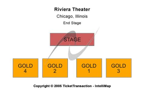 theater chicago seating capacity riviera theatre tickets in chicago illinois riviera